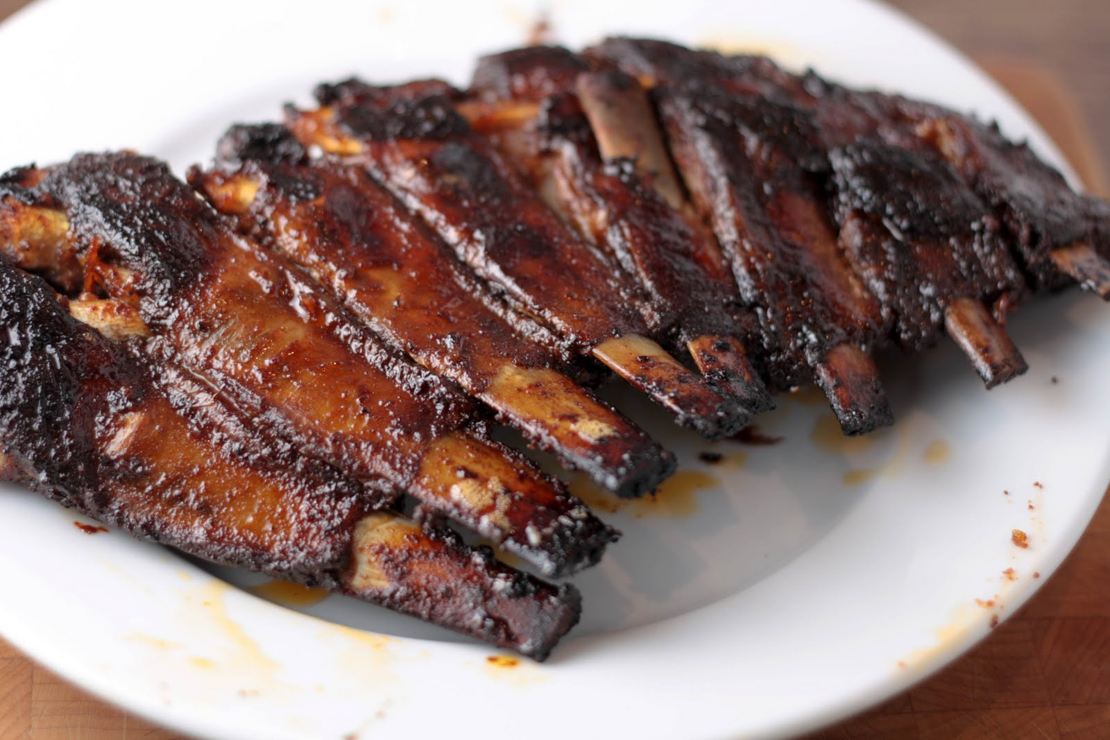 Slow cooked bbq lamb ribs robyn verrall recipe bullys beef - Make lamb barbecue ...