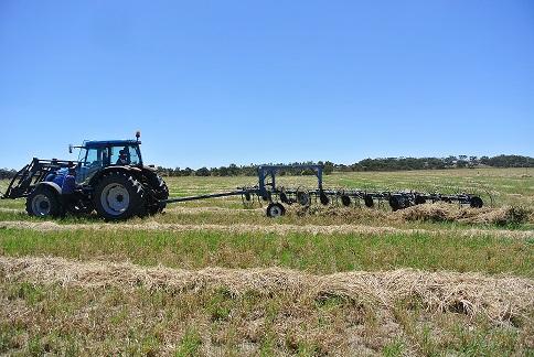 hay-raking